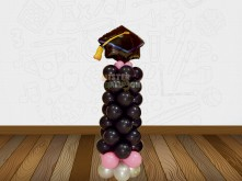 GRADUATION BALLOON WITH STANDING BALLOON WITH GRADUATION HAT