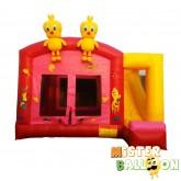 TWEETY BIRD Bouncy Castle with Slide