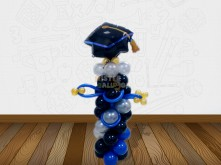 GRADUATION HAT STANDING BALLOON