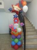 Pillar Balloon Welcome Back