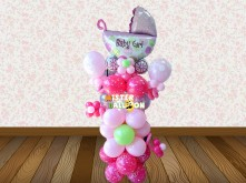 Baby Girl Standing Balloon