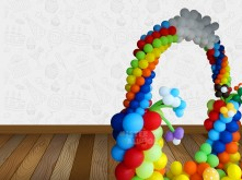 ARCH BALLOON RAINBOW