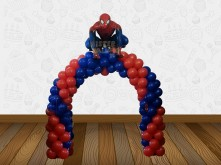 ARCH BALLOON SPIDERMAN
