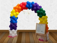 ARCH RAINBOW BALLOON