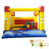 CLOWN FACE Bouncy Castle